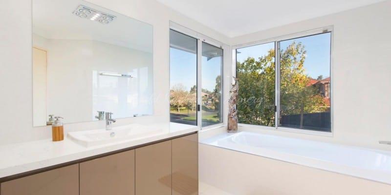 Modern style bathroom