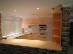 Original look of kitchen