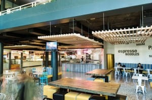 University of NSW food court built by Badel Kitchens