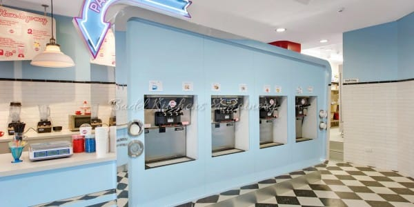 Frostbite Frozen Yoghurt retail shop built by Badel Kitchens