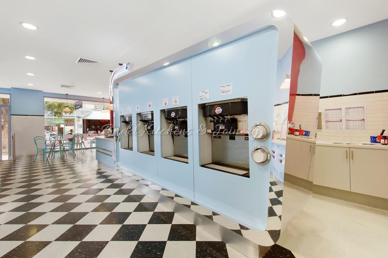 Dee Why Frost Bite | Retro Style Shop Fitout Sydney