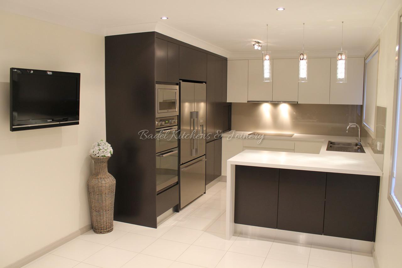 stylish kitchen and bathroom wardrobes and custom joinery in manly