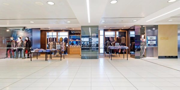 Oxford clothing shop fit out built by Badel Kitchens