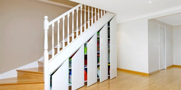 Staircase custom joinery