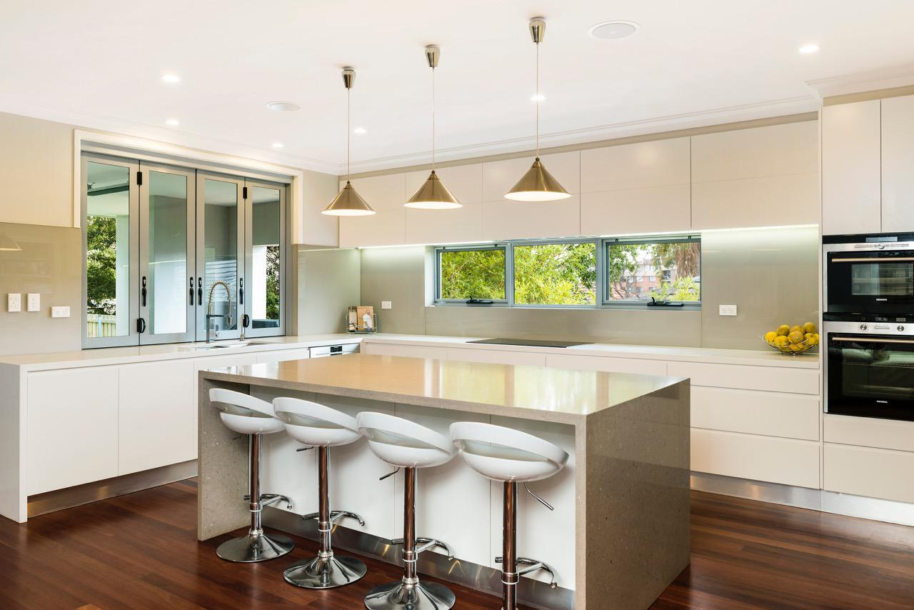 Kitchen renovations sydney kitchen designer badel for Kitchen reno design