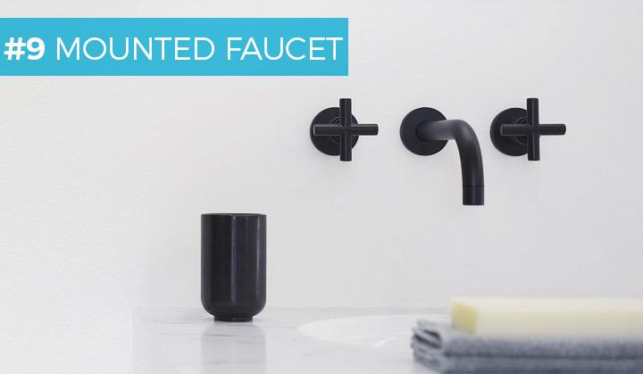 #9 MOUNTED FAUCET