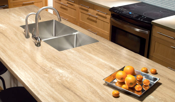 popular laminate kitchen countertop