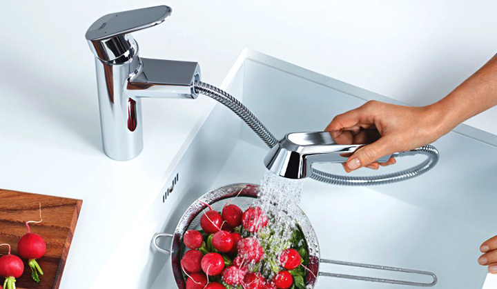 pull down kitchen faucet kitchen features