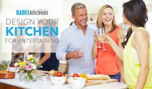 design your kitchen for entertaining