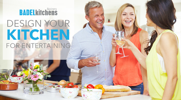 design your kitchen for entertaining