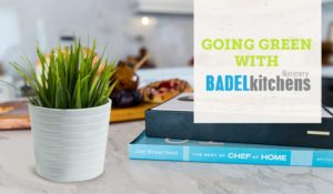 going green with badel kitchens