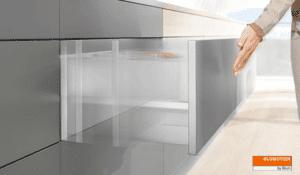 Blum upgraded cabinet