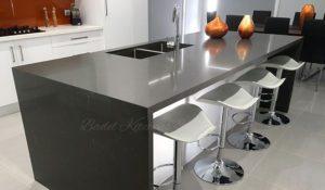 quartz island kitchen table