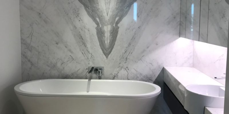 Milson Point bathroom makeover with tub