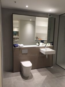 display suite parramatta bathroom bowl and sink after renovation