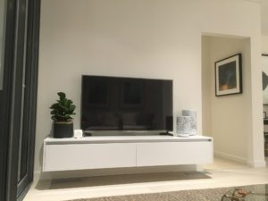 display suite northwest custom joinery for tv set