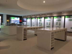 display suite parramatta for custom commercial joinery projects