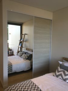 display suite northwest bedroom joinery