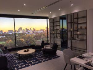 display suite parramatta office design
