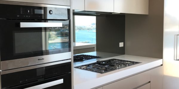 Milson Point home custom kitchen range and oven
