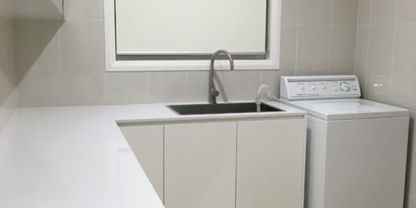Kellyville kitchen island sink and wash area