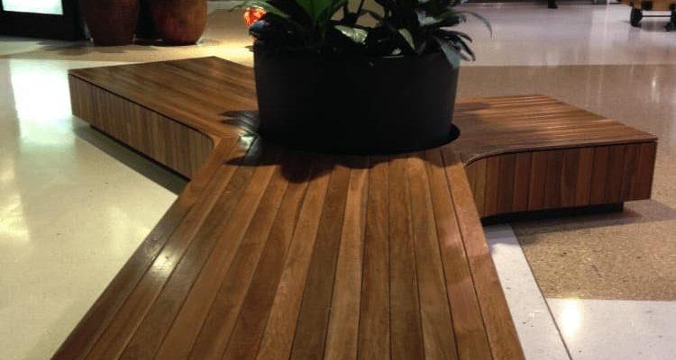 Westfields Shopping Centre custom seating setup