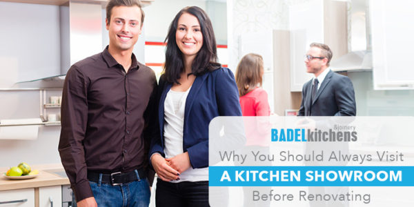 why you should always visit a kitchen showroom before renovating