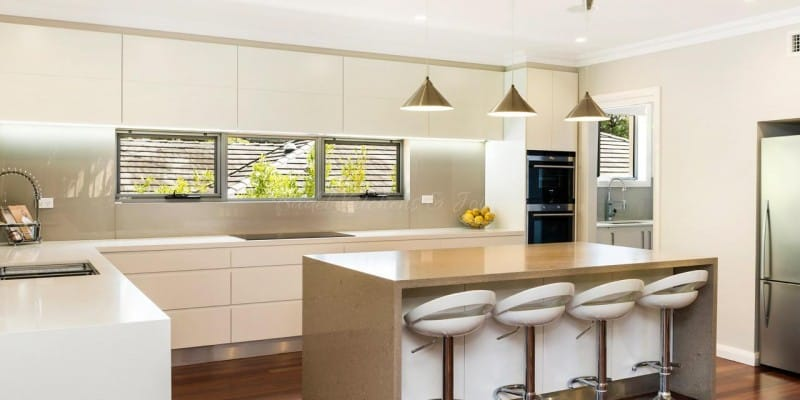 New kitchen in Putney, NSW