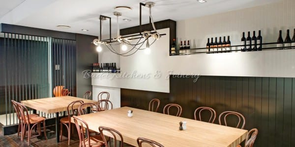 Bond Cafe Commercial fit outs built by Badel Kitchens
