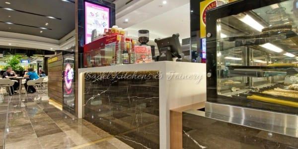 Spanish Doughnuts Retail Shop built by Badel Kitchens