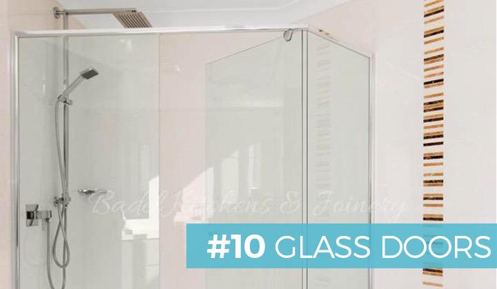 #10 GLASS DOORS