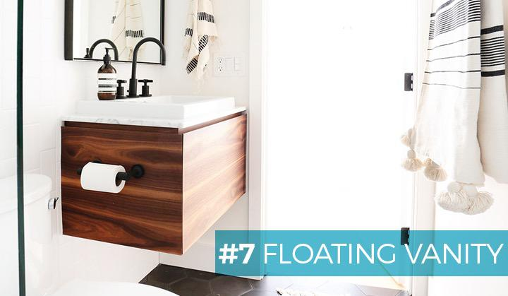 #7 FLOATING VANITY