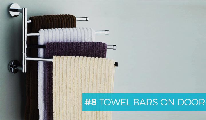 #8 Towel Bars