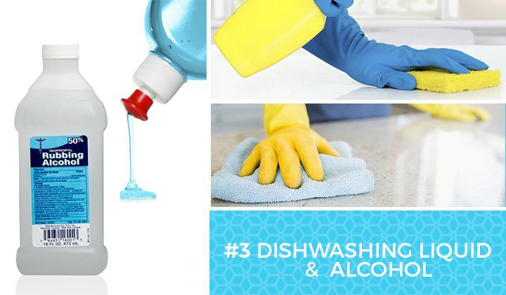 dishwashing alcohol