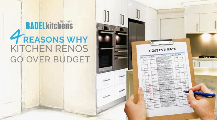 4 reasons why kitchen renos go over budget