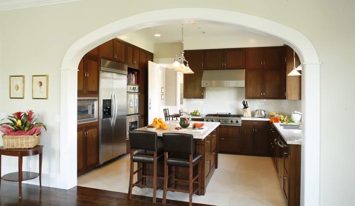 kitchen door-frame