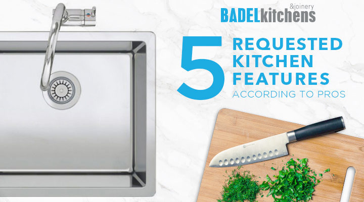 5 requested kitchen features according to pros