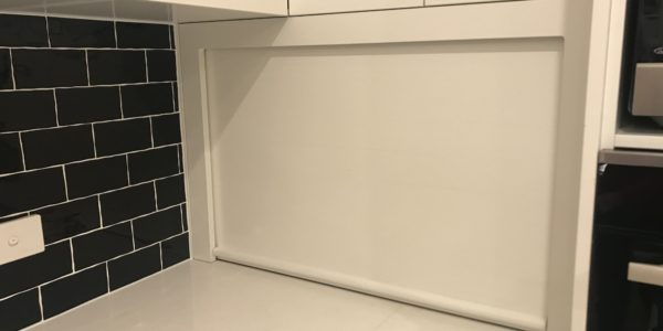 Ettalong Beach kitchen subway tile splashback