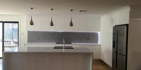 glenmore park minimalist kitchen