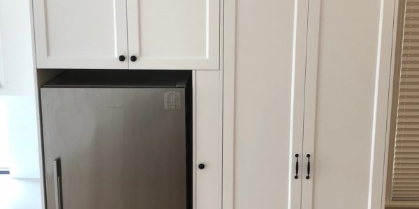 house arncliffe ref and custom cabinet