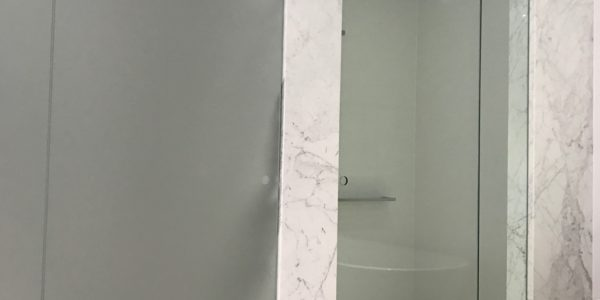 Milson Point home bathroom shower enclosure