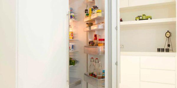 Norwest home custom joinery for fridge