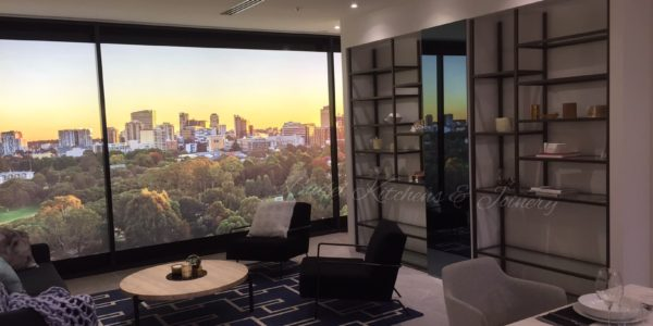 display suite parramatta office design