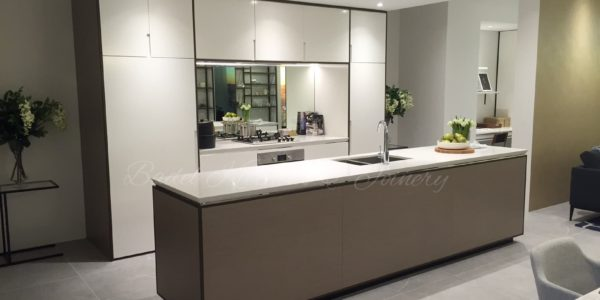 kitchen display suite parramatta after renovation