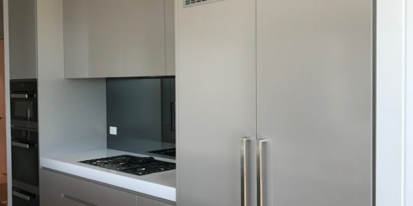Milson Point home custom kitchen range and cabinet
