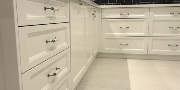 Ettalong Beach kitchen custom drawers