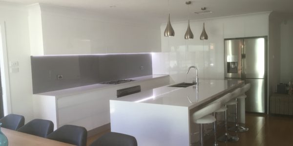 glenmore park kitchen counter and island