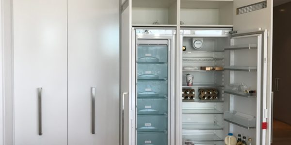 Milson Point home custom cabinet joinery for fridge
