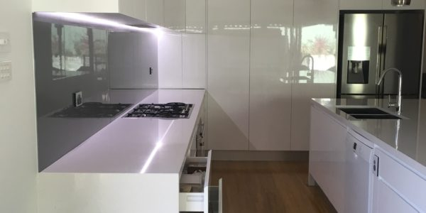 glenmore park kitchen counter and drawers