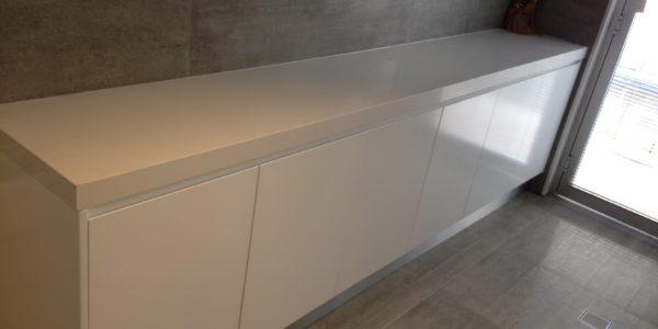 custom corner cabinet project